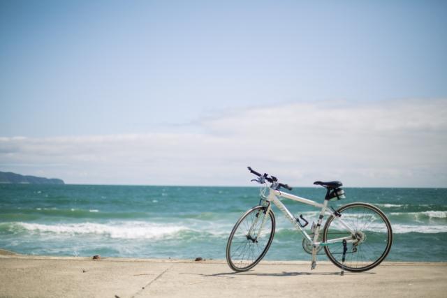 自転車の配送